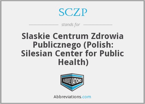 What does SCZP stand for?