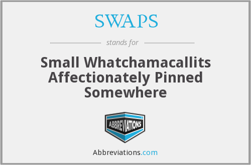 What does SWAPS stand for?