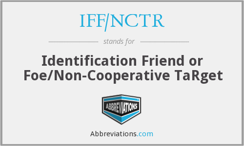 What does IFF/NCTR stand for?