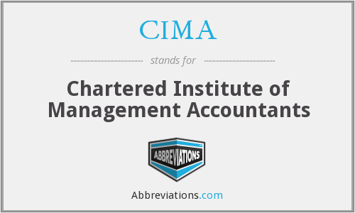 CIMA - Chartered Institute Of Management Accontants