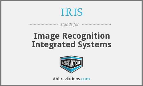 IRIS - Image Recognition Integrated Systems