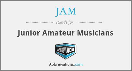 JAM - Junior Amateur Musicians