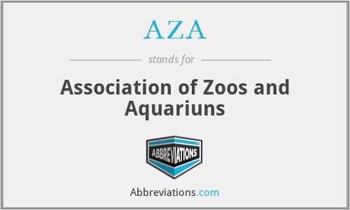 AZA - Association of Zoos and Aquariuns