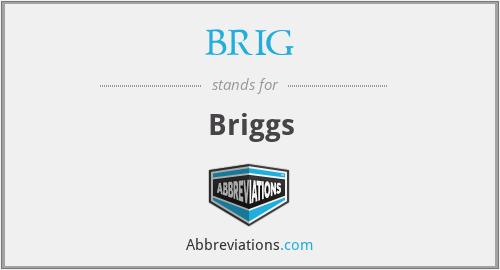 BRIG - Briggs