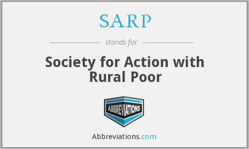 SARP - Society for Action with Rural Poor