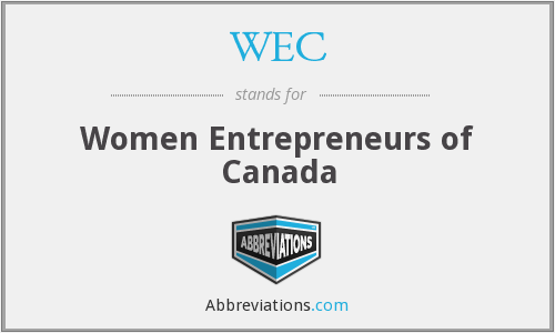 WEC - Women Entrepreneurs of Canada
