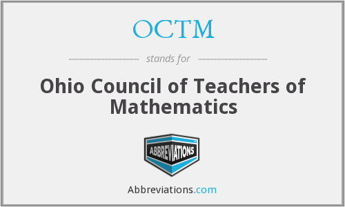 What does OCTM stand for?