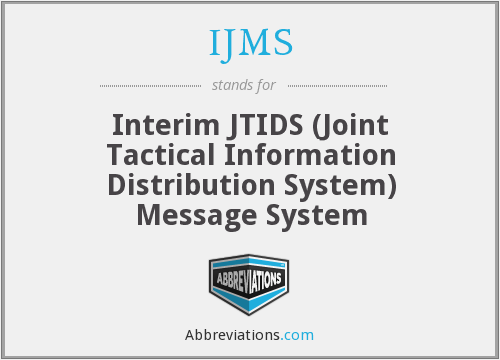 What does IJMS stand for?
