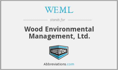WEML - Wood Environmental Management, Ltd.