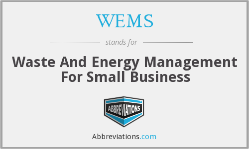 WEMS - Waste And Energy Management For Small Business