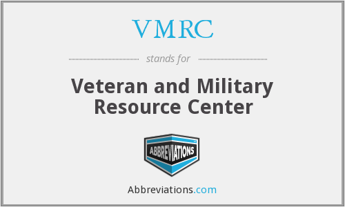 What does VMRC stand for?