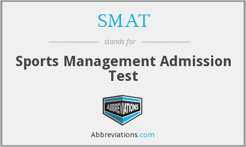 SMAT - Sports Management Admission Test