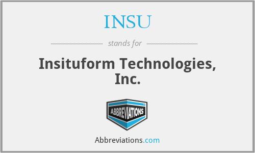 INSU - Insituform Technologies, Inc.