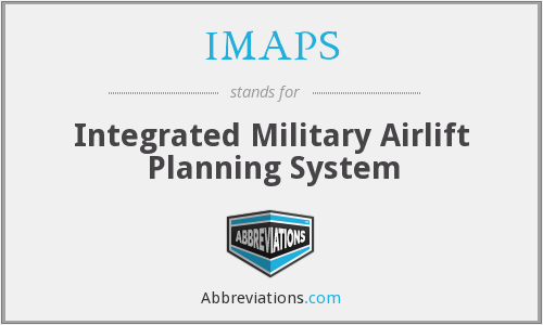 IMAPS - Integrated Military Airlift Planning System