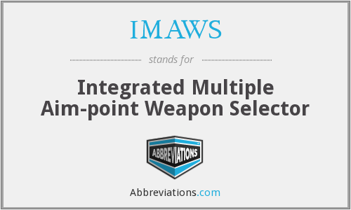 What does IMAWS stand for?