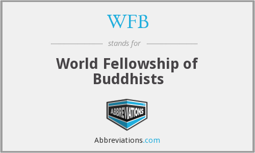 WFB - World Fellowship of Buddhists