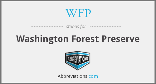 WFP - Washington Forest Preserve