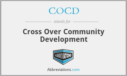 COCD - Cross Over Community Development