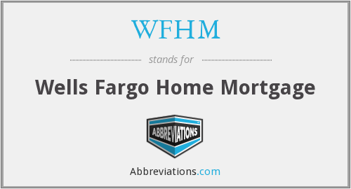 What does WFHM stand for?