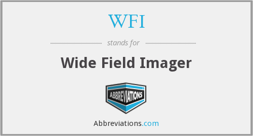 WFI - Wide Field Imager