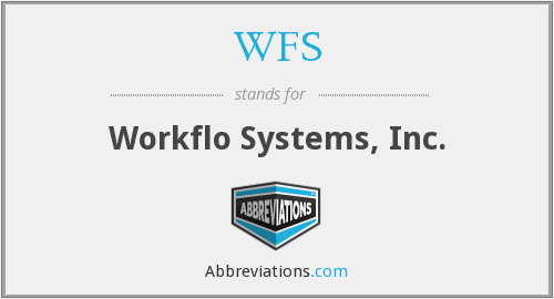 WFS - Workflo Systems, Inc.