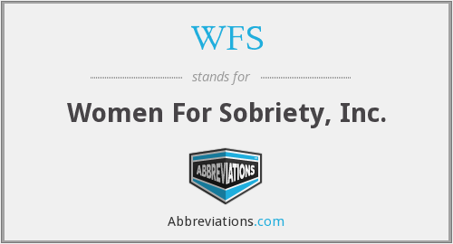 WFS - Women For Sobriety, Inc.
