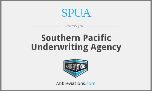 What does SPUA stand for?