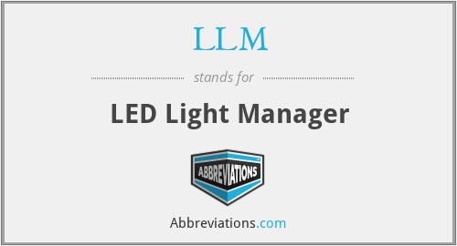 LLM - LED Light Manager