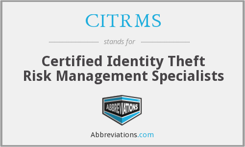 What does CITRMS stand for?