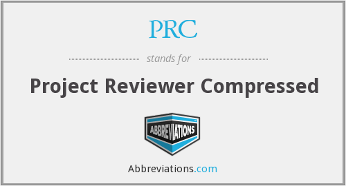 PRC - Project Reviewer Compressed