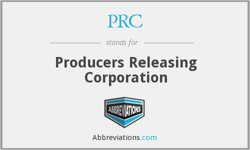 PRC - Producers Releasing Corporation