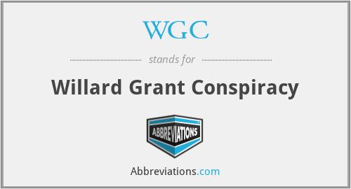 WGC - Willard Grant Conspiracy