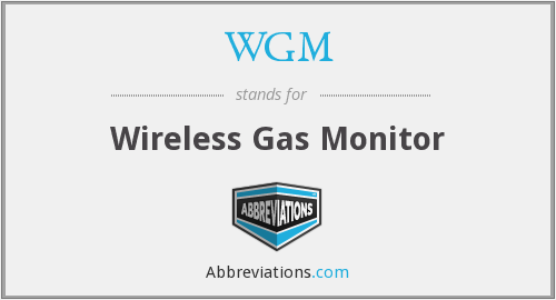 WGM - Wireless Gas Monitor