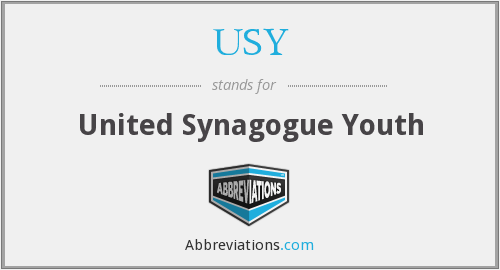 USY - United Synagogue Youth