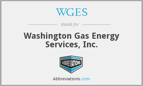 WGES - Washington Gas Energy Services, Inc.
