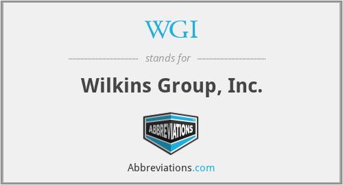 WGI - Wilkins Group, Inc.