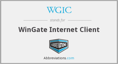What does WGIC stand for?