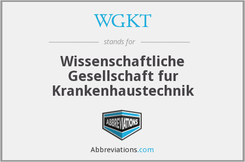 What does WGKT stand for?