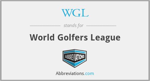 WGL - World Golfers League
