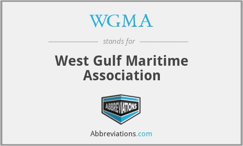 WGMA - West Gulf Maritime Association