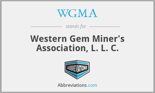 WGMA - Western Gem Miner's Association, L. L. C.