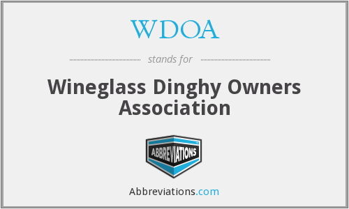 WDOA - Wineglass Dinghy Owners Association