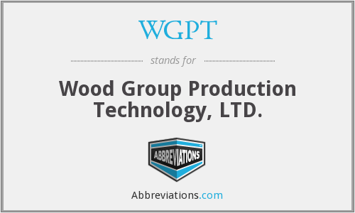 What does WGPT stand for?