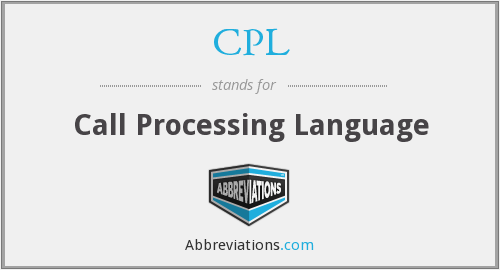 CPL - Call Processing Language