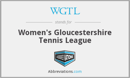 WGTL - Women's Gloucestershire Tennis League