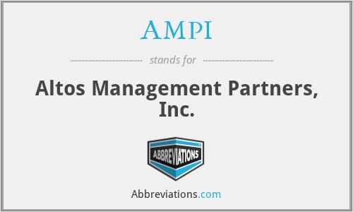 AMPI - Altos Management Partners, Inc.
