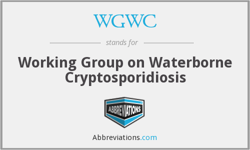 WGWC - Working Group on Waterborne Cryptosporidiosis
