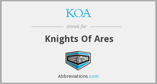KOA - Knights Of Ares