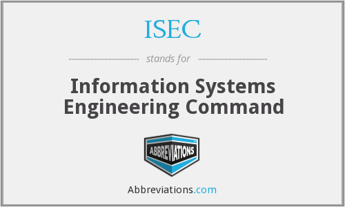 What does ISEC stand for?