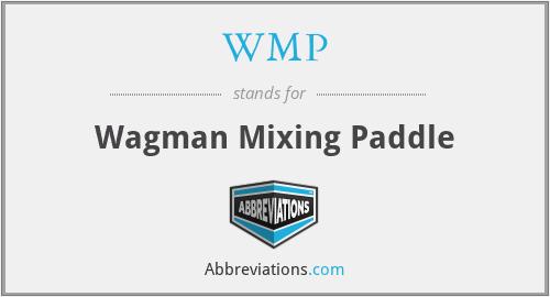 WMP - Wagman Mixing Paddle